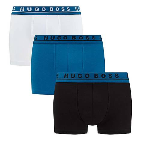 Three-Pack Boxer Trunks, ${color}