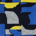 Abstract Print Socks, ${color}