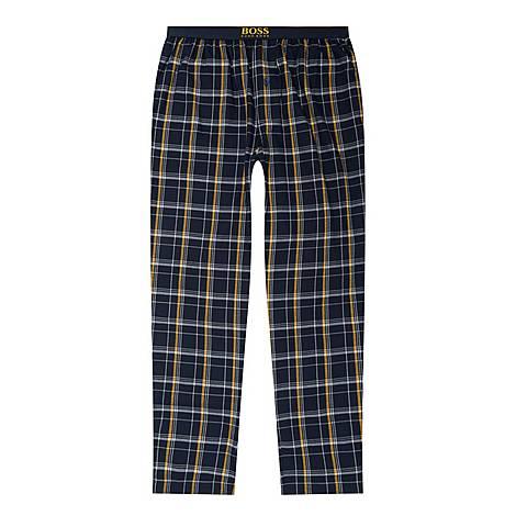 Dynamic Check Pyjama Bottoms, ${color}