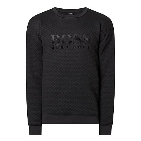 Logo Quilted Sweatshirt, ${color}