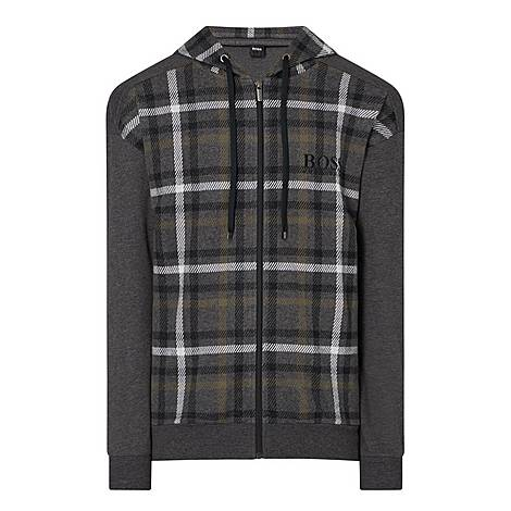 Heritage Checked Hoodie, ${color}