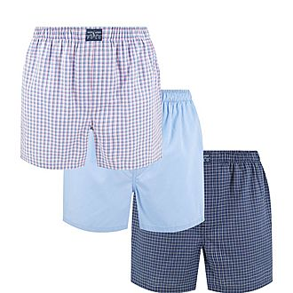 Three-Pack Classic Cotton Boxers