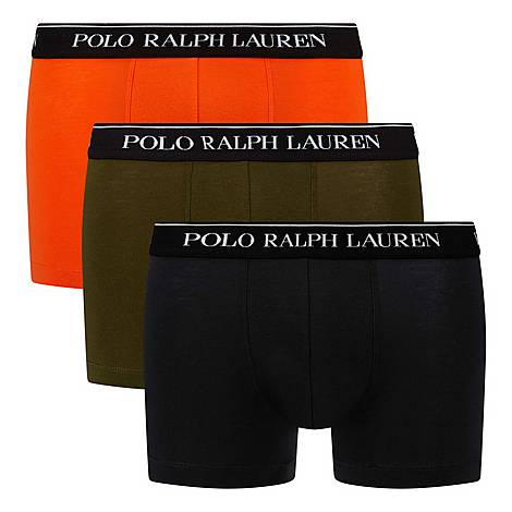 Three-Pack Classic Trunks, ${color}