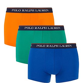 Three Pack Solid Colour Trunks