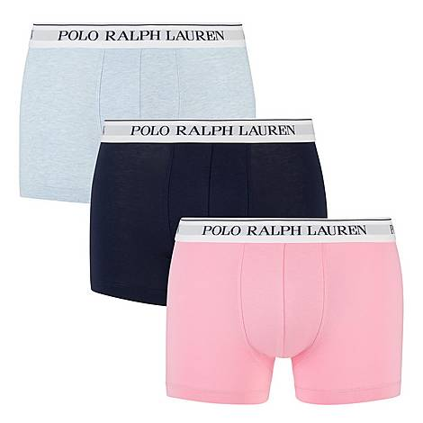 Three Pack Solid Colour Trunks, ${color}