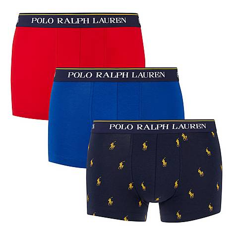 Three Pack Pattern Trunks, ${color}