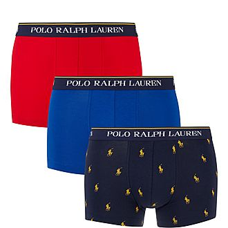 Three Pack Pattern Trunks