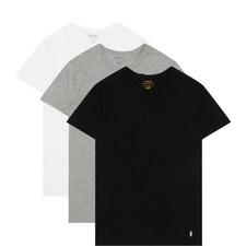 Three Pack Crew Neck T-Shirts