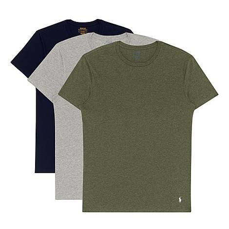 Three-Pack Crewneck T-Shirts, ${color}