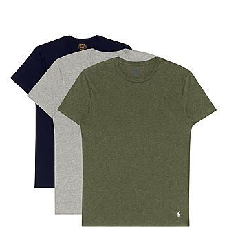 Three-Pack Crewneck T-Shirts