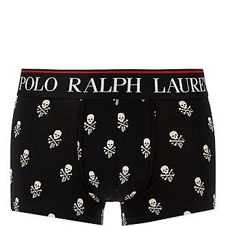 Skull Print Boxer Shorts