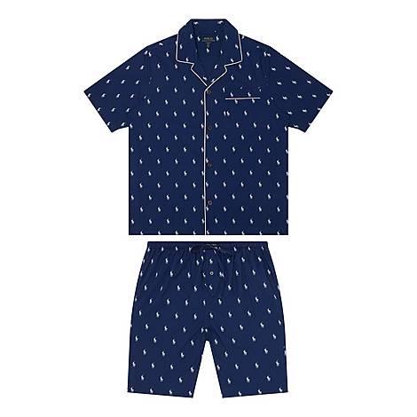 Logo Print Pyjamas, ${color}