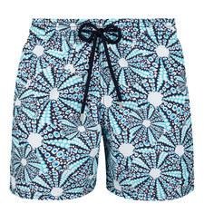 Moorea Oursinade Print Swim Shorts