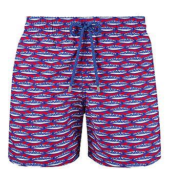Moorea Marbella Print Swim Shorts