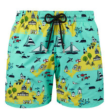 Moorea Martha's Vineyard Swim Shorts