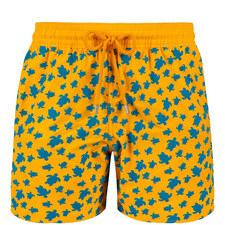 Moorea Tortues Flockees Swim Shorts