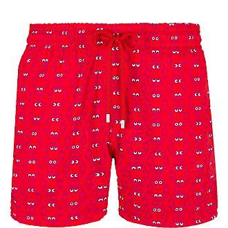 Superflex Crab Print Swim Shorts