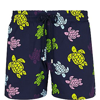Superflex Turtle Print Swim Shorts