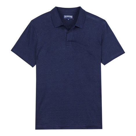 Pyramid Linen Polo Shirt, ${color}
