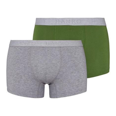 Cotton Essential Trunks 2 Pack, ${color}