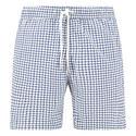 Geometric Print Swim Shorts, ${color}