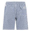 Retro Dot Print Swim Shorts, ${color}
