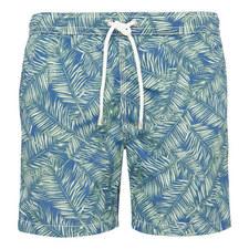 Tropical Leaf Swim Shorts