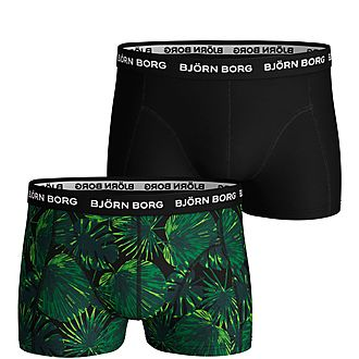 Two-Pack Leaf Trunk Boxers