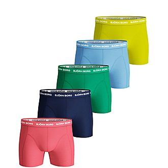 Five-Pack Comfort Boxers