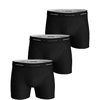 Three-Pack Solid Sustainable Boxers