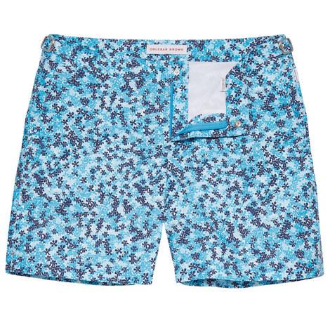 Bulldog Mid Length Swim Shorts, ${color}