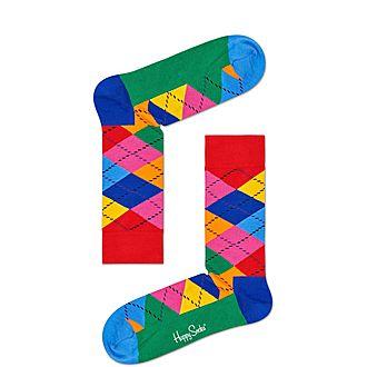 Diamond Argyle Socks