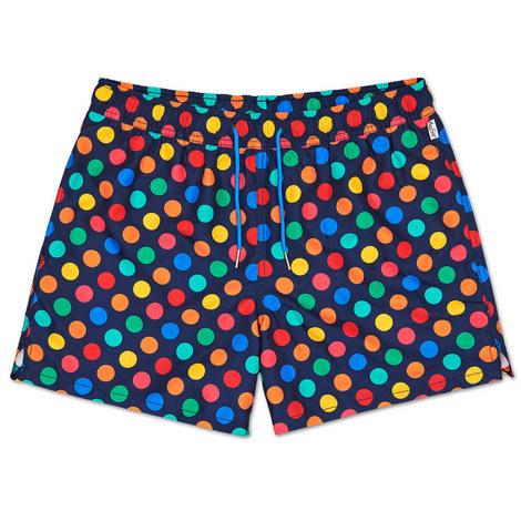 Big Dot Swim Shorts, ${color}