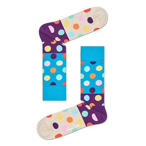 Big Dot Block Socks, ${color}
