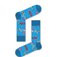 Beatles Fish Socks