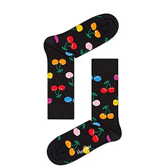 Vitamins Cherry Socks