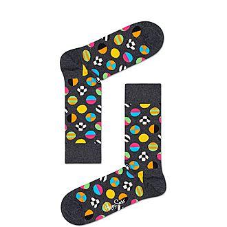 Clashing Dot Socks