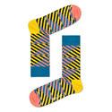 Diagonal Stripe Socks, ${color}