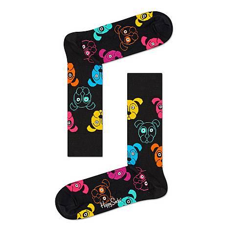 Dog Pattern Socks, ${color}