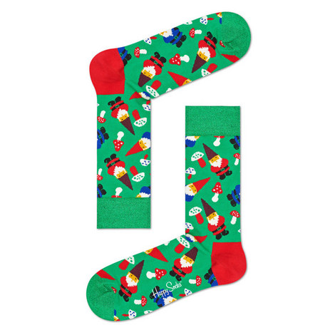 Holiday Santa Socks, ${color}