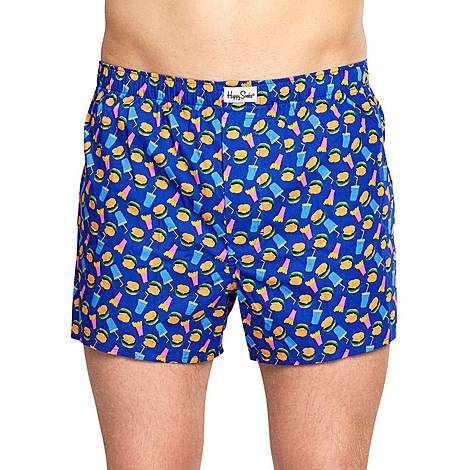 Hamburger Print Boxers, ${color}