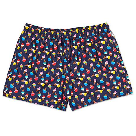 Ice Cream Swim Shorts, ${color}