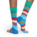 Multi-Stripe Socks, ${color}