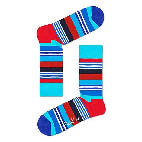 Multi-Stripe Socks, ${color}