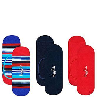 3-Pack Liner Socks