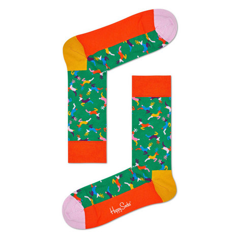 Holiday Reindeer Socks, ${color}
