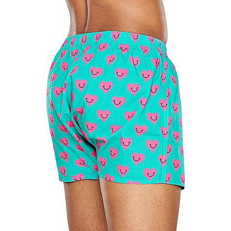 Smiley Heart Boxers, ${color}