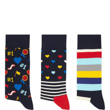 Father's Day Socks Gift Set