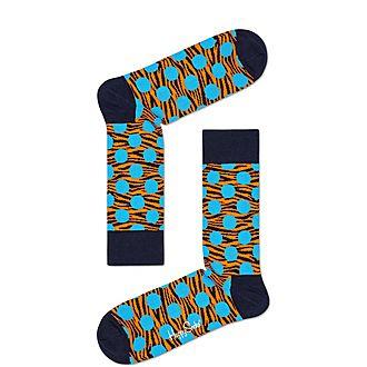 Tiger Dot Socks
