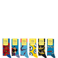 The Beatles Socks Collector's Set